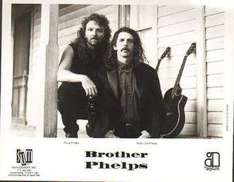 Brother Phelps - Doug (left) and Ricky Lee Phelps