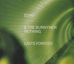 Nothing Lasts Forever (Echo & the Bunnymen song) - Image: Bunnymen nothinglastsforever 2