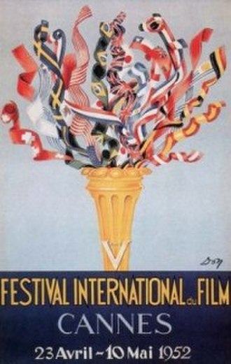 1952 Cannes Film Festival - Image: CFF52poster