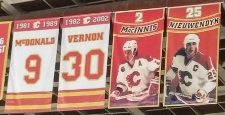 Calgary Flames Honoured Numbers