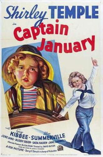 Captain January (1936 film) - Image: Captain January Film Poster