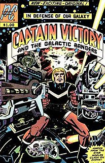 <i>Captain Victory and the Galactic Rangers</i>