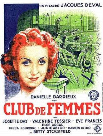 Women's Club (film) - Image: Club de femmes 1936
