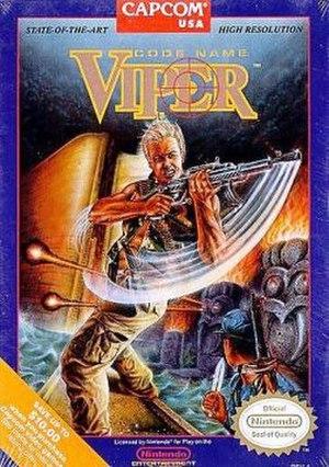 Code Name: Viper - North American cover art