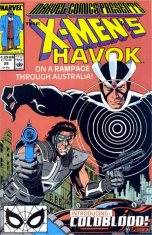 Coldblood - Coldblood (left) and Havok (right), art by Paul Gulacy.
