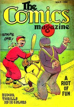 "Everett M. ""Busy"" Arnold - Image: Comcs Magazine V1no 1"