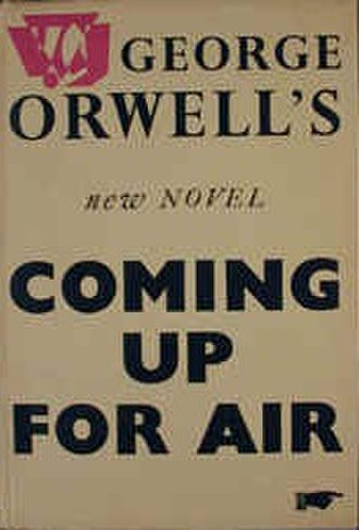 Coming Up for Air - Image: Coming Up for Air (George Orwell novel cover art)