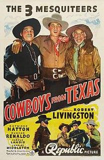 <i>Cowboys from Texas</i> 1939 film