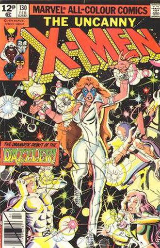 Dazzler - First appearance of the Dazzler