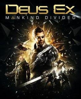 <i>Deus Ex: Mankind Divided</i> 2016 video game
