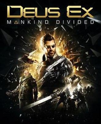Deus Ex: Mankind Divided - Image: Deus Ex, Mankind Divided Box Art