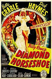 <i>Diamond Horseshoe</i> 1945 film by George Seaton