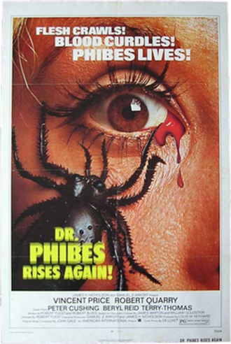Dr. Phibes Rises Again - Theatrical release poster