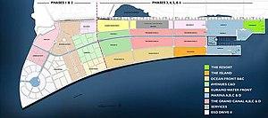 Eko Atlantic - Image: Eko Atlantic Masterplan