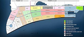 Eko Atlantic - Masterplan of Eko Atlantic (2015 revision)