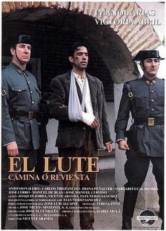 El Lute: Run for Your Life - Theatrical release poster