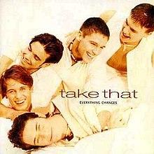 Everything Changes (Take That album) - Wikipedia Take That Album