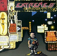 Album cover of Extreme II: Pornograffiti (1990), one of the band's most successful albums to date.