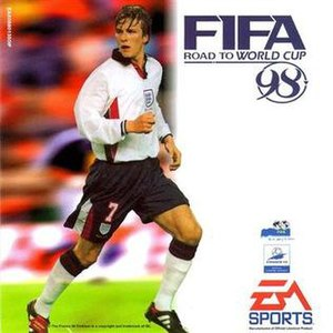 FIFA: Road to World Cup 98 - Image: FIFA 98 cover