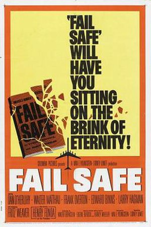 Fail Safe (1964 film) - Theatrical release poster