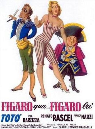 Figaro Here, Figaro There - Image: Figaro qua, Figaro là (poster)