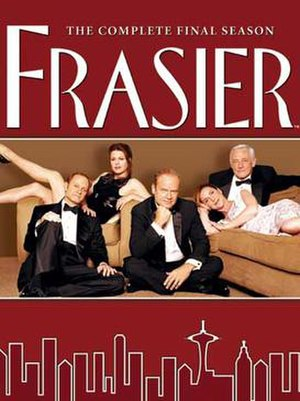 Frasier (season 11) - DVD cover