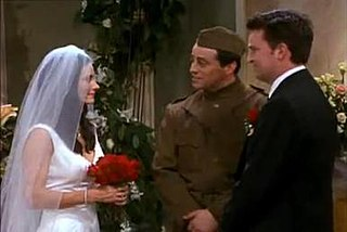 The One with Monica and Chandlers Wedding 23rd and 24th episodes of the seventh season of Friends