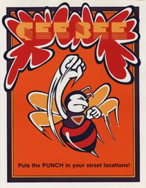 Gee Bee (video game) - U.S. arcade flyer of Gee Bee.