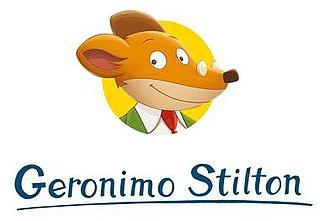 Geronimo Stilton childrens book series