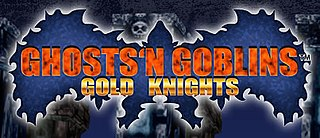 <i>Ghosts n Goblins: Gold Knights</i> video game