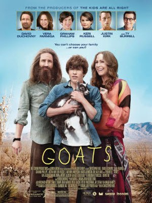 Goats (film) - Theatrical release poster