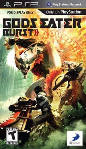 Gods Eater Burst - North American cover art