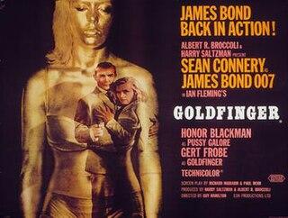 <i>Goldfinger</i> (film) 1964 James Bond film directed by Guy Hamilton