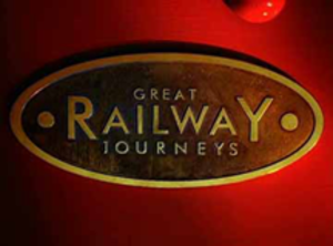 Great Railway Journeys - Title screen for most episodes from Series 2 onward.