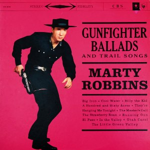 Gunfighter Ballads and Trail Songs - Image: Gunfighter Ballads Robbins CD