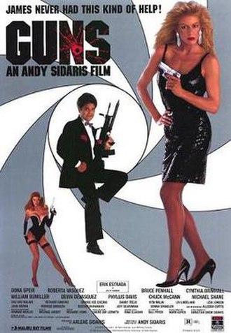 Guns (film) - Promotional film poster