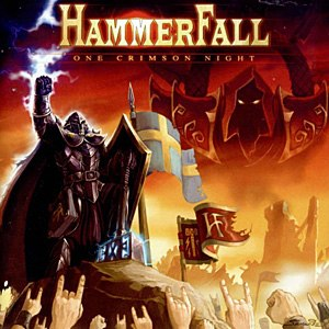 One Crimson Night - Image: Hammer Fall One Crimson Night
