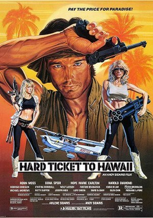 Hard Ticket to Hawaii - VHS box cover