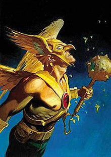 The adventures of hawkman and hawkgirl an extreme