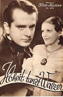 <i>Her Highness Dances the Waltz</i> (1935 film) 1935 film by Max Neufeld