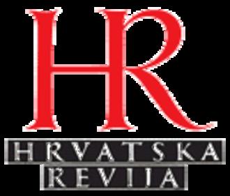 Hrvatska revija - Image: Hrvatska revija logo