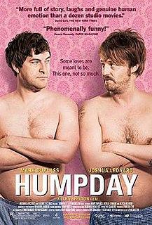<i>Humpday</i> 2009 film by Lynn Shelton