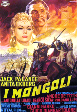 The Mongols (film) - Italian theatrical release poster