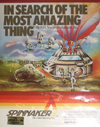In Search of the Most Amazing Thing - Cover art