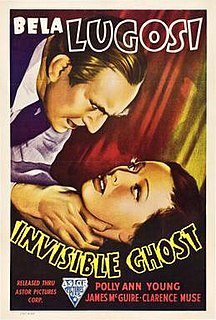 <i>Invisible Ghost</i> 1941 film by Joseph H. Lewis