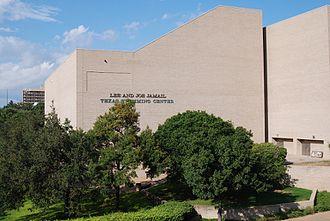 Lee and Joe Jamail Texas Swimming Center - Exterior of the Jamail Texas Swimming Center