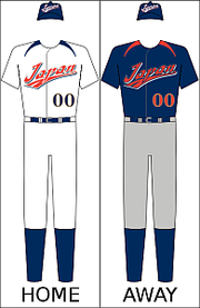 Japan's national baseball uniform