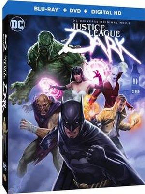 Justice League Dark (film) - Blu-ray Disc cover