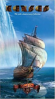 <i>Sail On: The 30th Anniversary Collection</i> 2004 greatest hits album & DVD by Kansas
