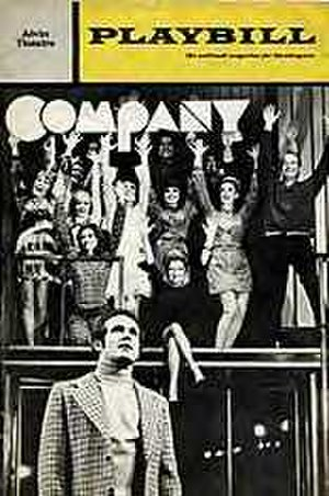 Company (musical) - Original Broadway Playbill